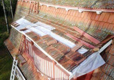 mtalkkari katon huoltotyö