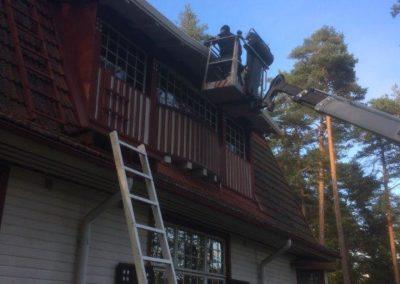 mtalkkari talojen maalaaminen